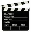Hollywood Party Deko Filmklappe aus Holz