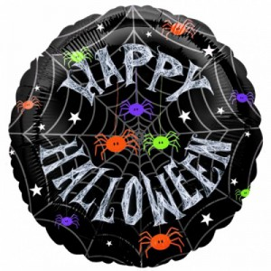 Happy Halloween Folien Ballon