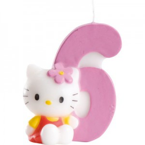 Hello Kitty Kerze 6