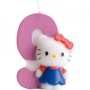 Hello Kitty Kerze 9