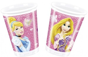 8 Disney Princess Glamour Becher