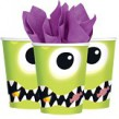 8 Becher Halloween Monster