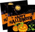 20 Happy Halloween Servietten