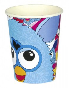 8 Furby Party Becher