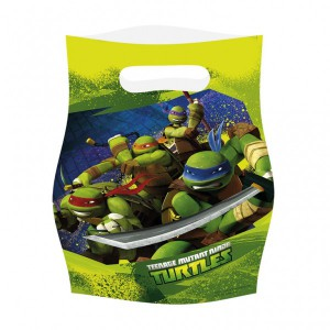 6 Ninja Turtles Party Tüten
