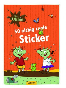 Olchis Stickerheft