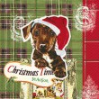 Servietten Doggy Christmas