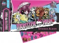 Monster High Sticker Album + 75 Sticker