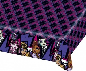 Plastik Tischdecke Monster High 2