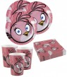 8 Teller Angry Birds Pink