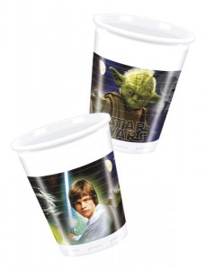 8 Becher Star Wars Heroes