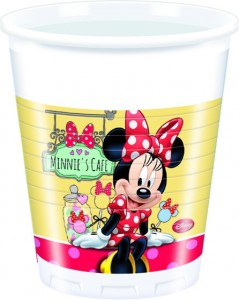8 Becher Minnie Café