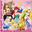 20 Servietten Disney Princess Animals