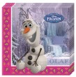 20 Servietten Frozen die Eiskönigin Olaf Winter Motiv