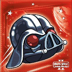 20 Servietten Angry Birds Star Wars