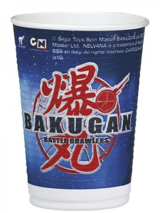 8 Bakugan Becher