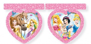 Disney Princess Animals Wimpel Girlande