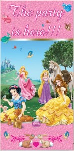 Disney Princess Animals Türposter