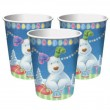 8 Becher The Snowman and The Snowdog