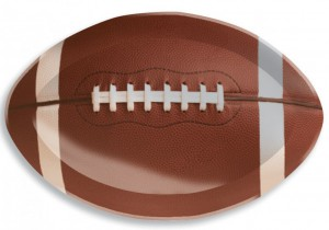 Football Superbowl Tablett 1B Ware