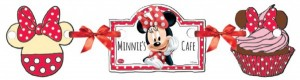 Minnie Café Wimpel Girlande