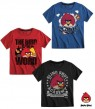 Angry Birds T-Shirt in Schwarz