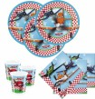 36 Teile Disney Planes Party Deko Basis Set - für 8 Kinder