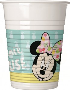 36 Teile Disney Minnie Maus Tropical Party Deko Basis Set - für 8 Kinder – Bild 3