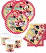36 Teile Disney Minnie Café Party Deko Basis Set - für 8 Kinder