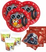 36 Teile Angry Birds Star Wars Party Deko Basis Set - für 8 Personen