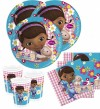 36 Teile Disney Doc McStuffins Party Deko Basis Set - für 8 Kinder