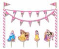 Torten Deko Set Disney Princess Animals