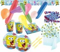 125 Teile Spongebob Party Deko Set