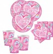 32 Teile Sparkling Princess Party Set für 8 Kinder