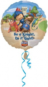 Ritter Mike the Knight Geburtstags Folien Ballon