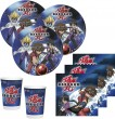 36 Teile Bakugan Party Deko Set für 8 Personen