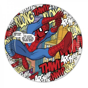 8 Spiderman Comic Papp Teller