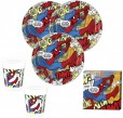 8 Spiderman Comic Becher