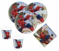 36 Teile Spiderman Web Warriors Party Deko Set für 8 Kinder