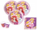 36 Teile Disney Princess Palace Pets Party Deko Set für 8 Kinder