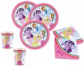 8 Einladungskarten My little Pony Rainbow