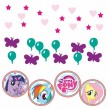 My little Pony Rainbow Konfetti Mix