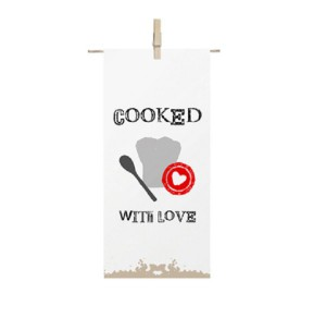 Cooked With Love Küchenhandtuch