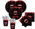 32 Teile Vampire Party Set für 8 Personen