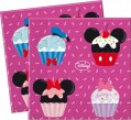 20 Minnie Cupcakes Servietten