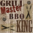 32 Teile Grill Party Deko Set BBQ King 8 Personen