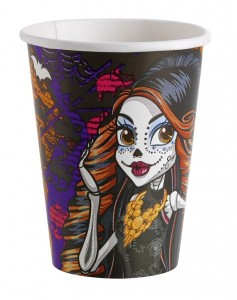 8 Papp Becher Monster High Halloween