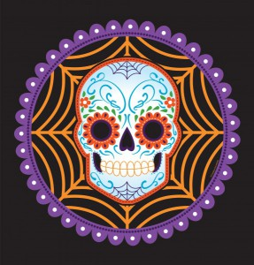 Tischdecke Day of the Dead