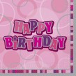 48 Teile Happy Birthday Geburtstag Party Set Pink 16 Personen