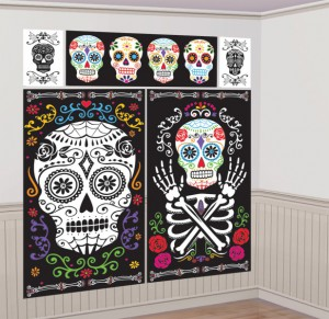 XXL Wandposter Day of the Dead